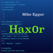 Hax0r Album Cover Art